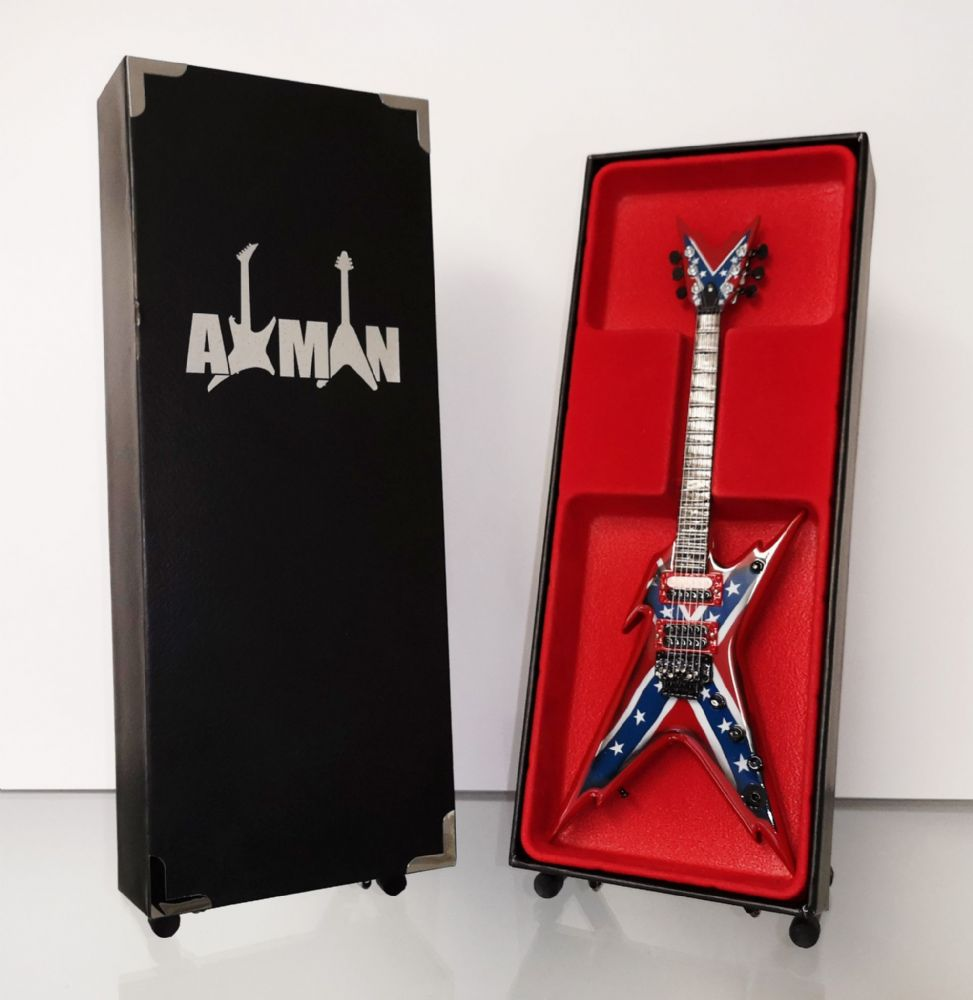 (Pantera) Dimebag Darrell: Razorback Rebel- Miniature Guitar Replica (UK Seller)